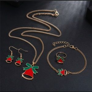 🎉Christmas/Holiday Necklace and earring set!🎉